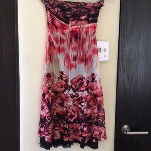 Jean Paul Gaultier size XS floral dress